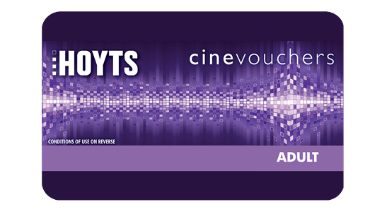 Hoyts cinemas gift card hoyts cinemas available in e voucher negle Choice Image