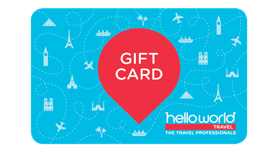 helloworld gift card - Travel Gift Cards